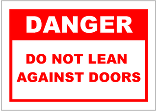 Do_Not_Lean_Against_Doors_Sign_Template.png