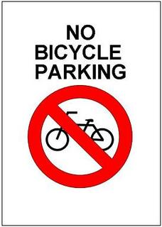 No bicycle parking sign template excel templates free download for No parking signs template