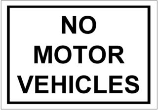No Motor Vehicles Signtemplate Excel Templates Free Download