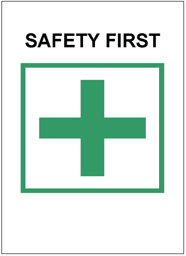 safety first template excel templates free download