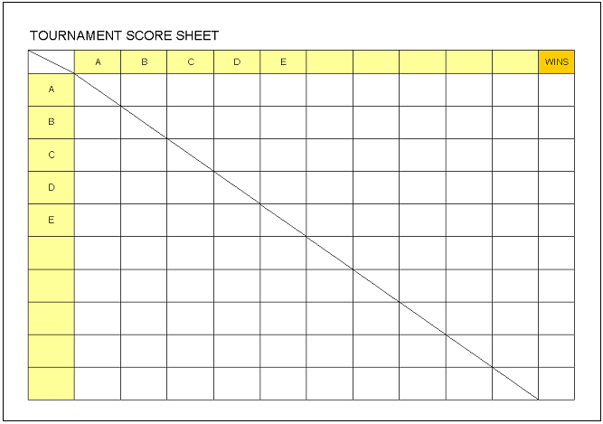 Management excel templates free download for Tournament spreadsheet template